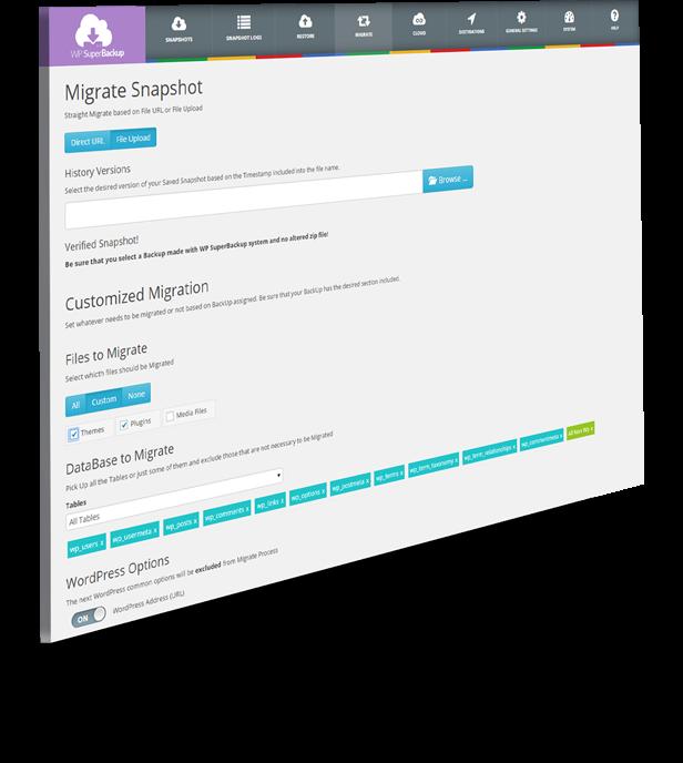 Super Backup & Clone - Migrate for WordPress - 53