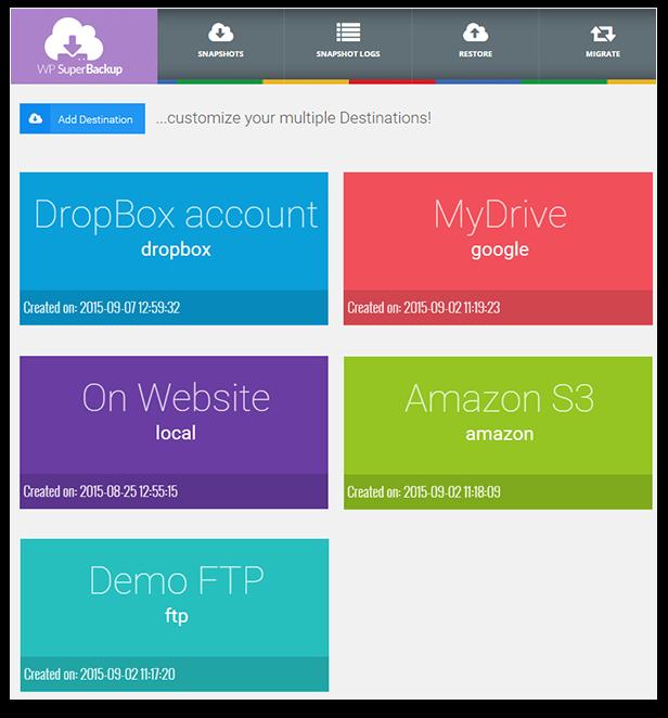 Super Backup & Clone - Migrate for WordPress - 65