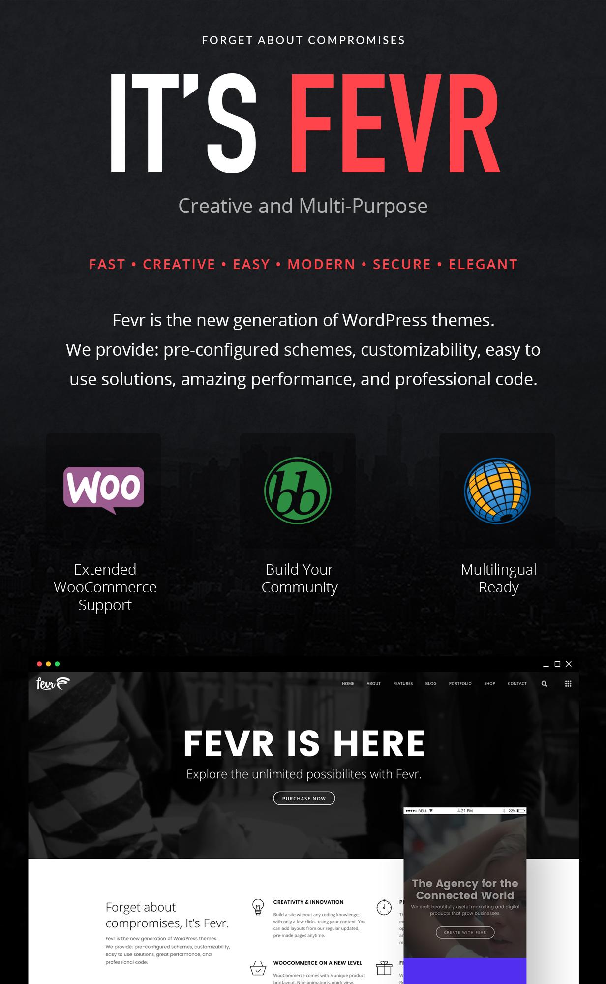 Fevr - Creative MultiPurpose Theme - 5