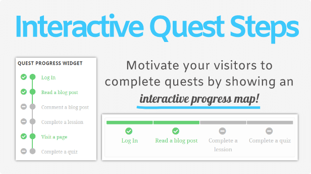 Interactive Quest Steps