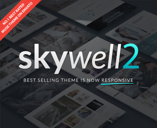 Skywell - MultiPurpose Adobe Muse Template - 1