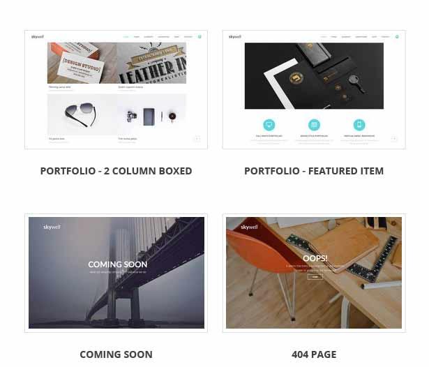 Skywell - MultiPurpose Adobe Muse Template - 23