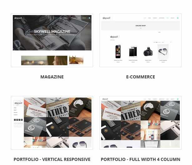 Skywell - MultiPurpose Adobe Muse Template - 21