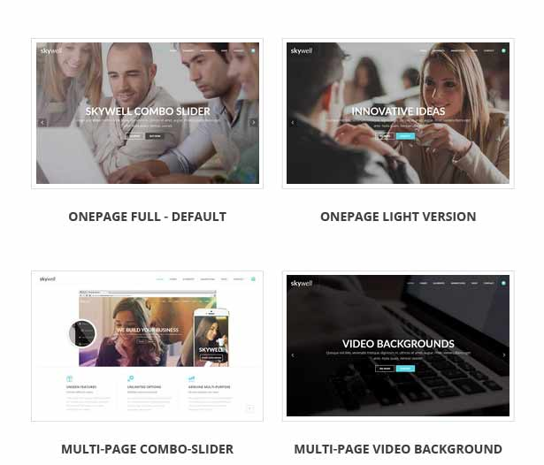 Skywell - MultiPurpose Adobe Muse Template - 18