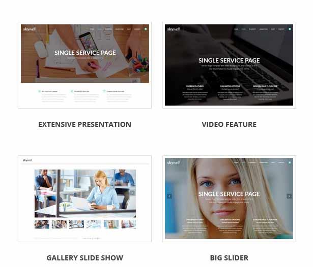Skywell - MultiPurpose Adobe Muse Template - 27