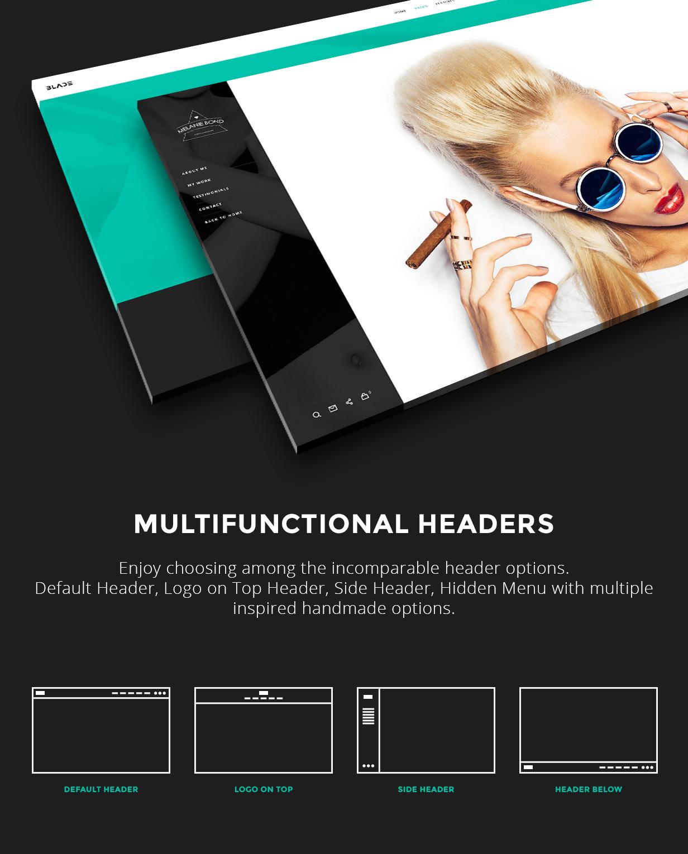 Multifunctional Headers