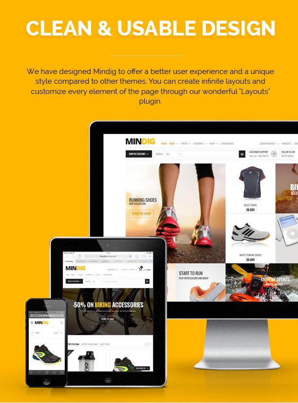 Mindig: a Flat & Multipurpose Ecommerce Theme - 3