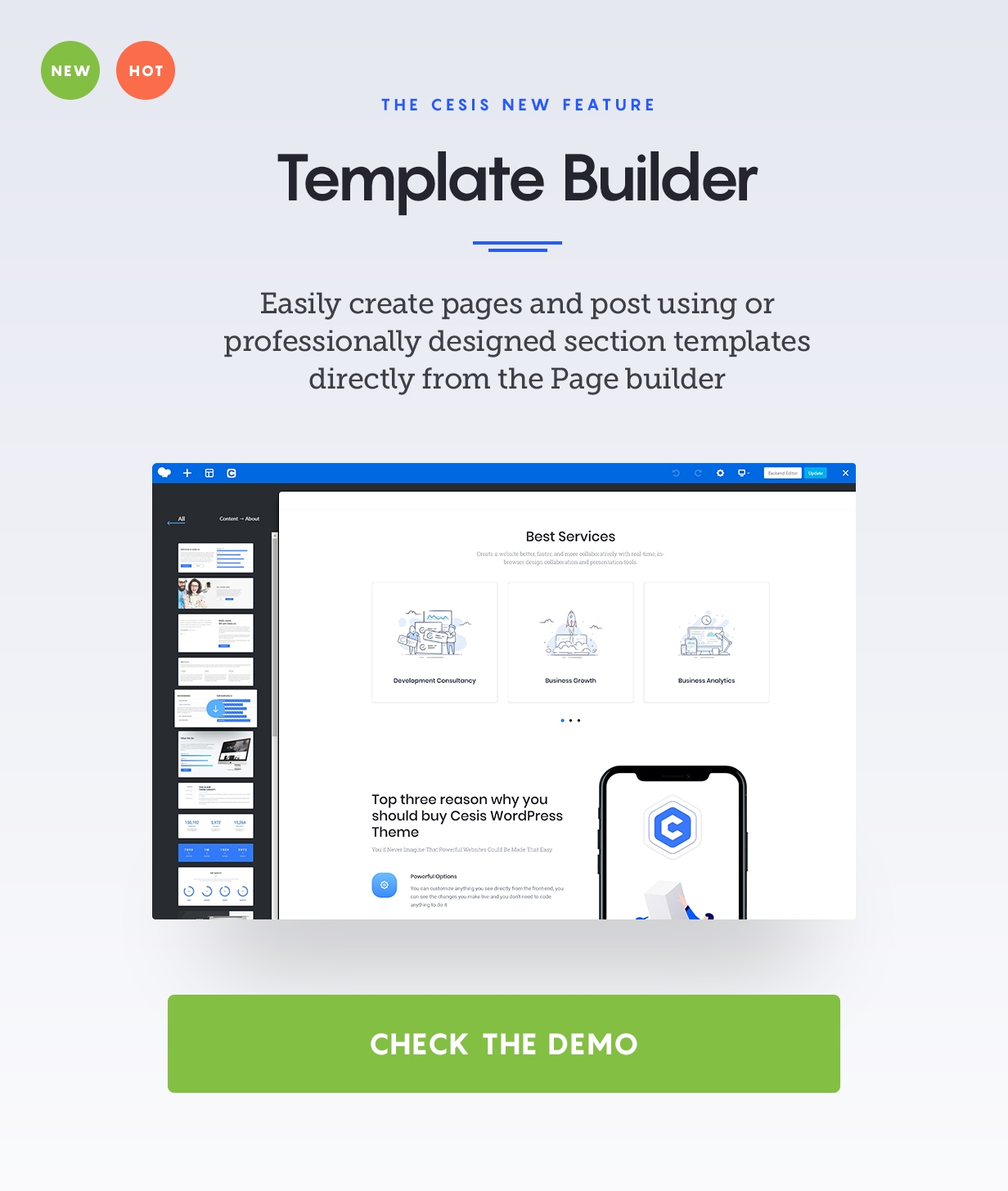 Best WordPress Theme - ThemeForest - Envato - Cesis WordPress ver 1.6.0 - Major Updates
