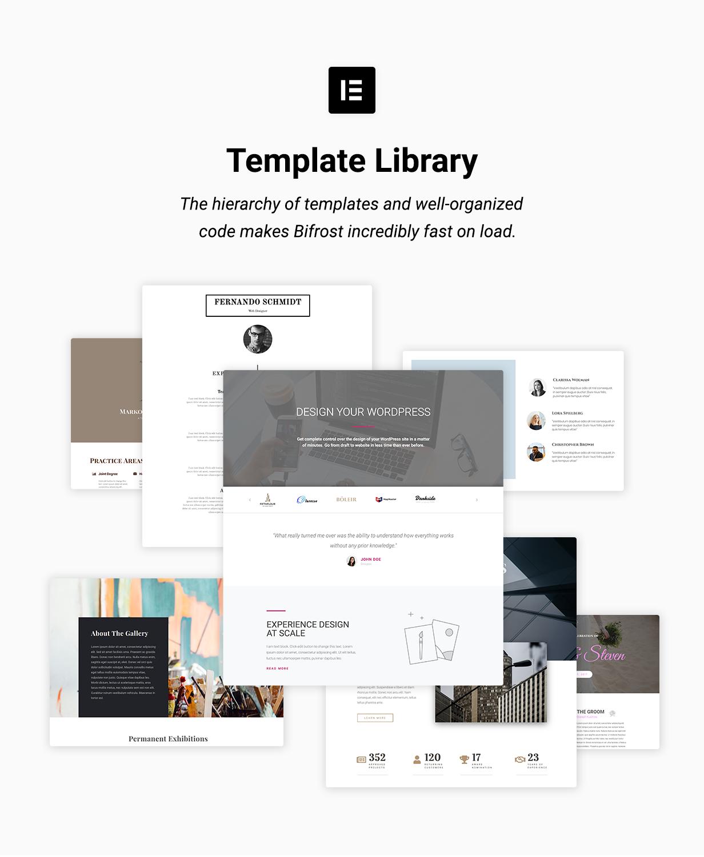 Bifrost - Simple WordPress Theme