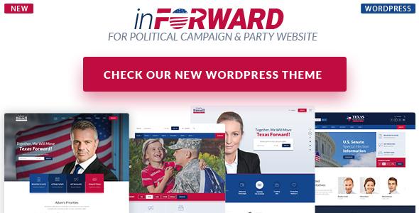 Candidate - Political/Nonprofit/Church WordPress Theme - 1