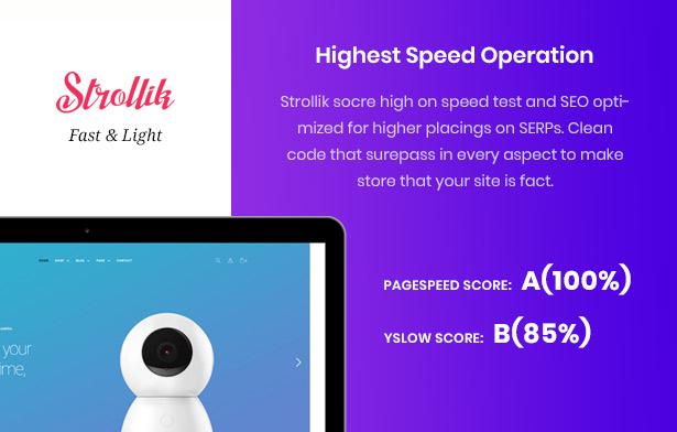 Strollik single product high performance