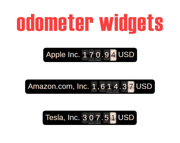 Premium Stock & Forex Market Widgets   WordPress Plugin - 10