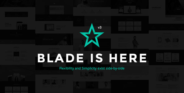 Blade - Responsive Multi-Functional WordPress Theme