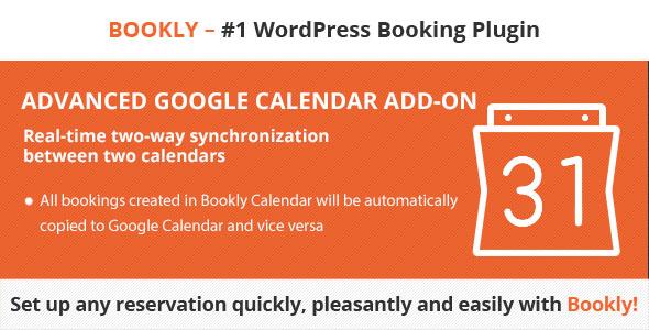 Bookly Advanced Google Calendar (Add-on)