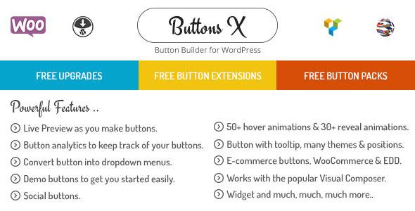 Buttons X - Powerful Button Builder for WordPress