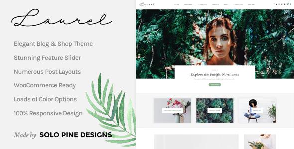 Laurel - A WordPress Blog & Shop Theme
