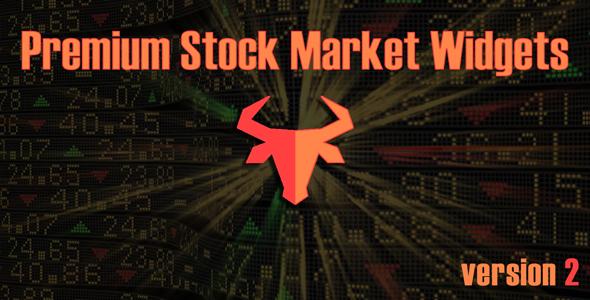Premium Stock & Forex Market Widgets   WordPress Plugin