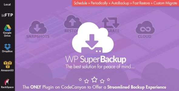 Super Backup & Clone - Migrate for WordPress