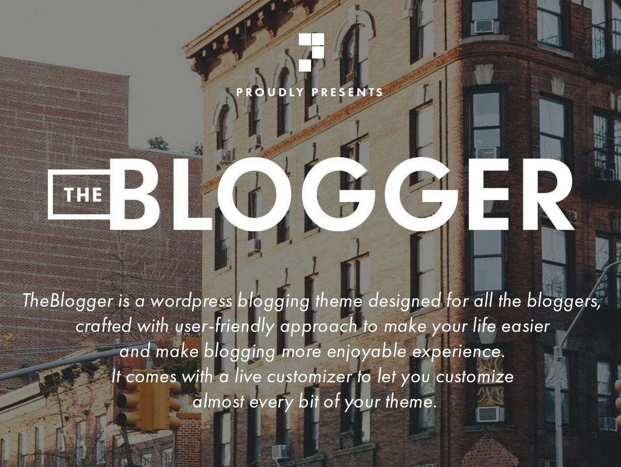theblogger theme intro