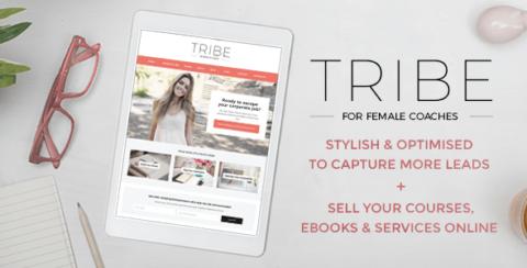 Tribe - Feminine Coach WordPress Theme