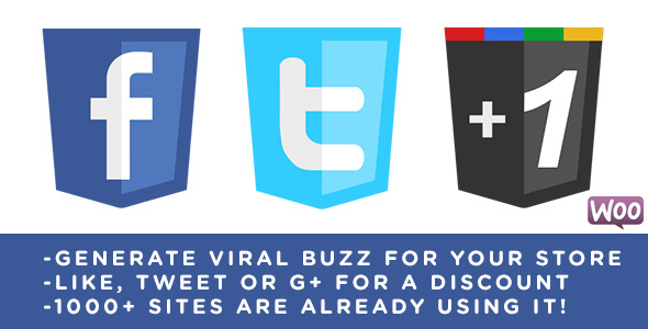 Viral Coupon - Like, Tweet or G+ to get a Discount
