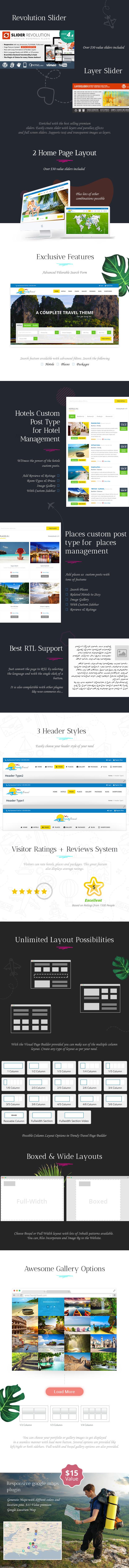 Trendy Travel WordPress - 4