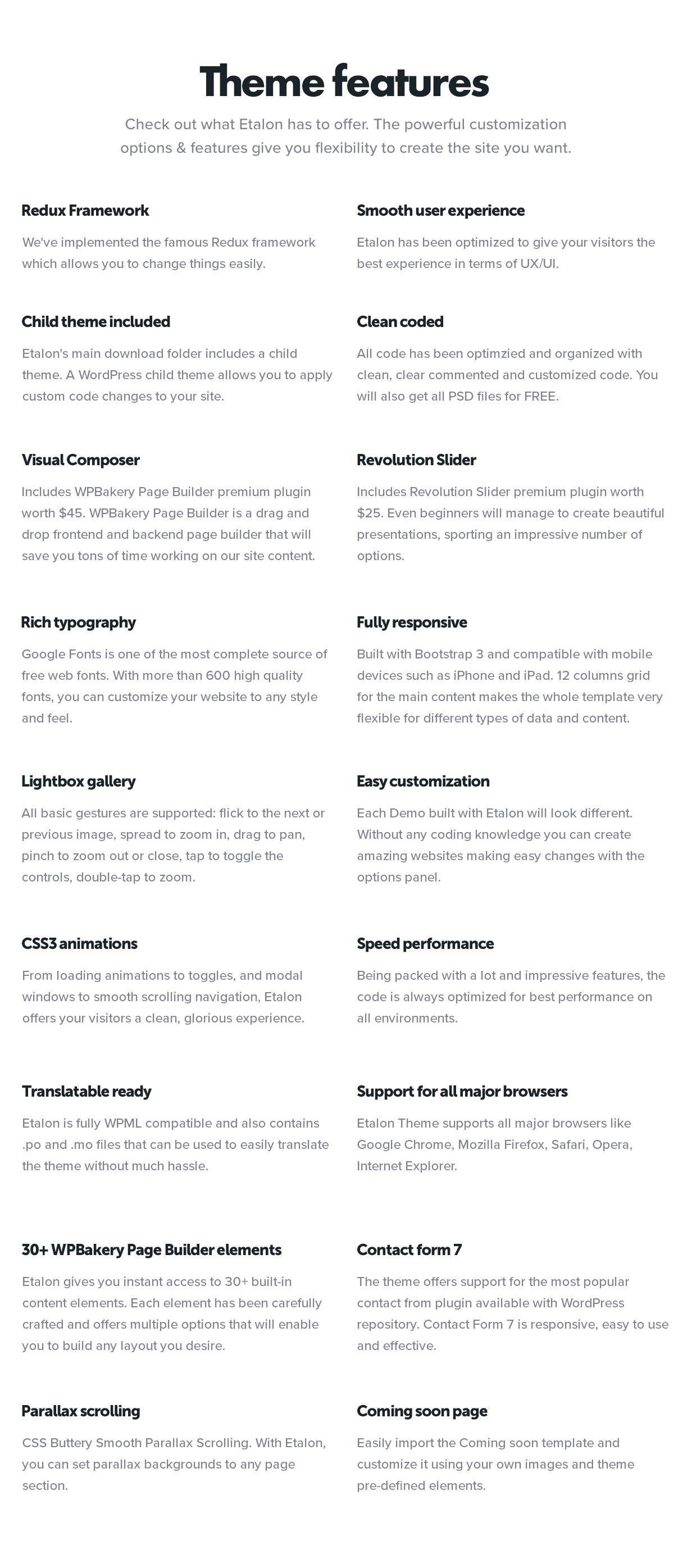 Etalon - Multi-Concept Theme for Professional Services - 2