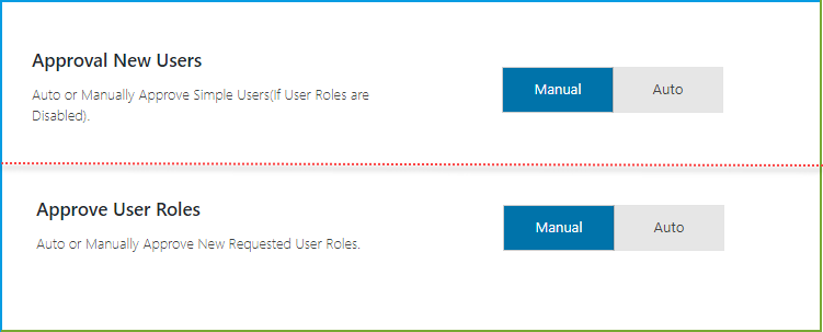 Auto or Manually Approve Users and User Roles - WooCommerce registration fields
