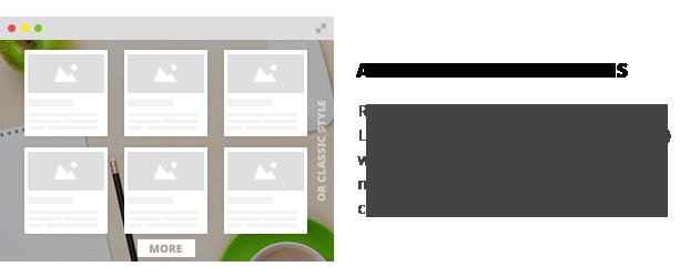 Advanced Blog Options