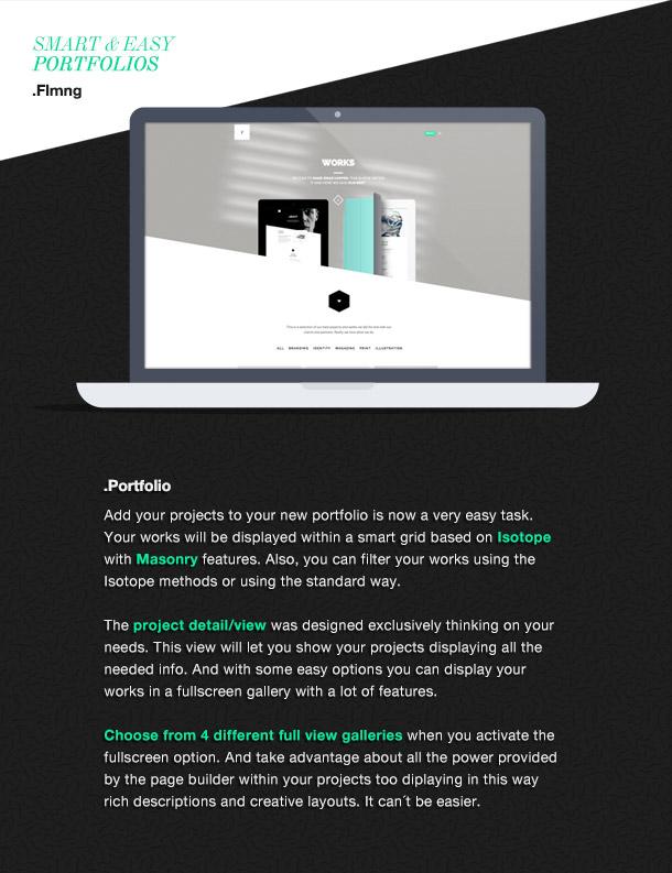 Flamingo - Agency & Freelance Portfolio Theme for WordPress - 8
