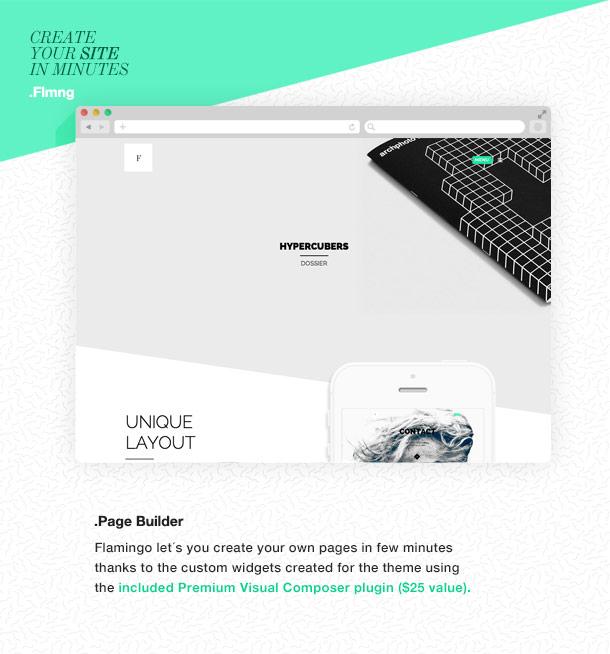 Flamingo - Agency & Freelance Portfolio Theme for WordPress - 7