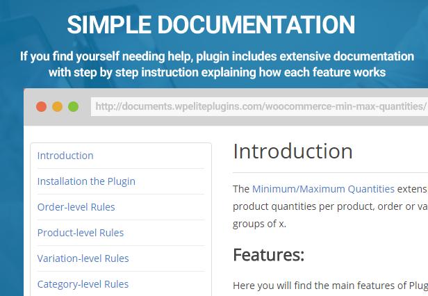 WooCommerce - Minimum/Maximum Quantities - 5