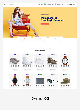 Puca - Optimized Mobile WooCommerce Theme - 16