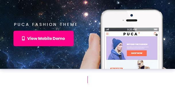 Puca - Optimized Mobile WooCommerce Theme - 28