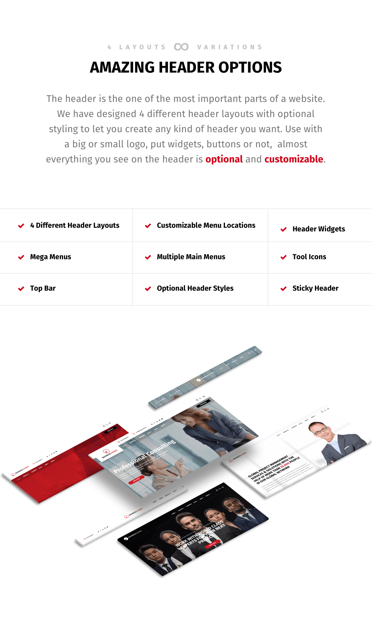 Business Lounge   Multi-Purpose Consulting & Finance Theme - 2