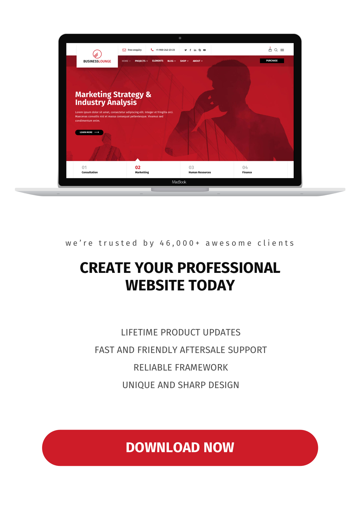 Business Lounge   Multi-Purpose Consulting & Finance Theme - 8