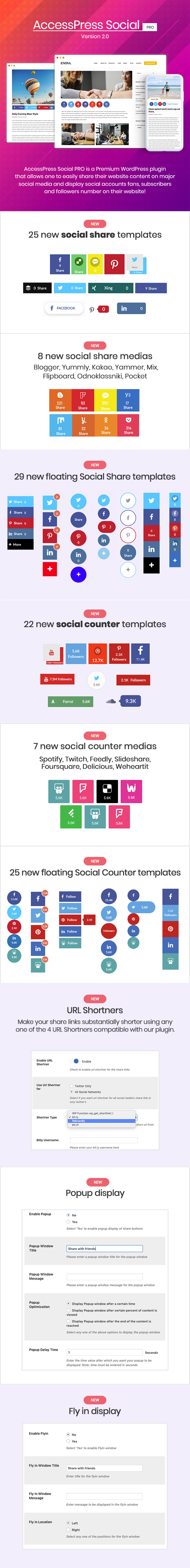 AccessPress Social Pro - 2
