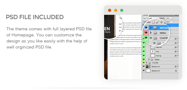 SmartScreen fullscreen responsive WordPress theme - 14