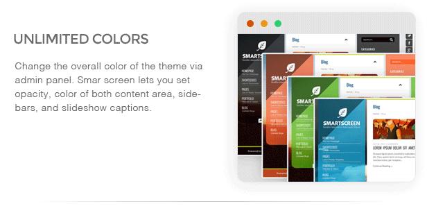 SmartScreen fullscreen responsive WordPress theme - 12