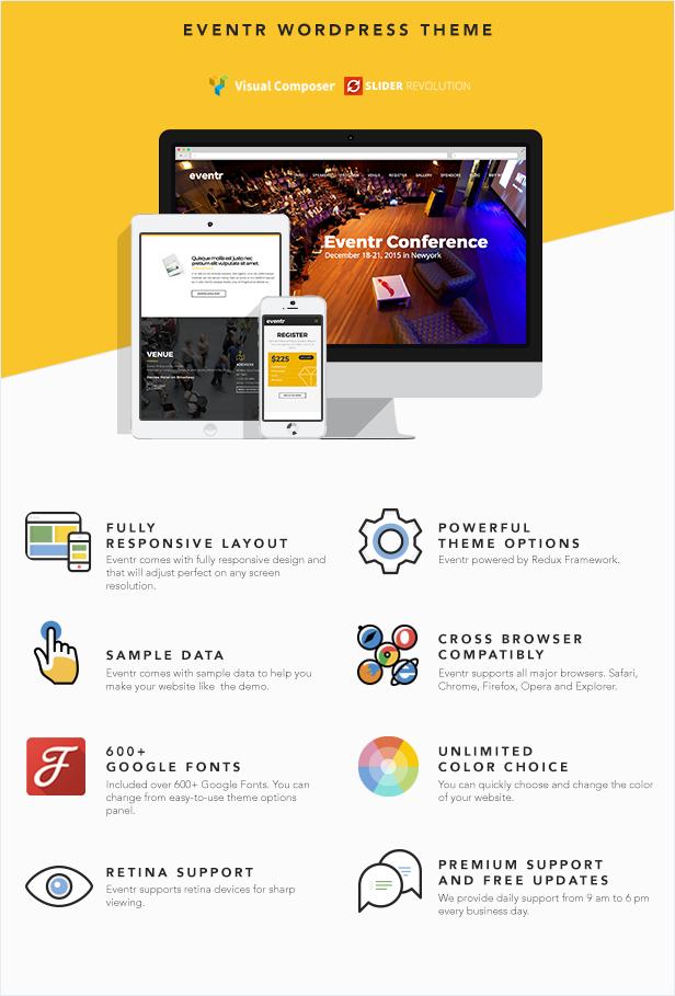 eventr wordpress theme