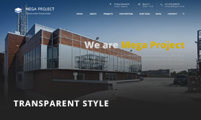 Mega Project - Construction WordPress - 6