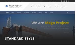 Mega Project - Construction WordPress - 3