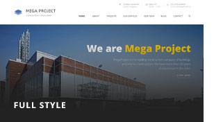 Mega Project - Construction WordPress - 5