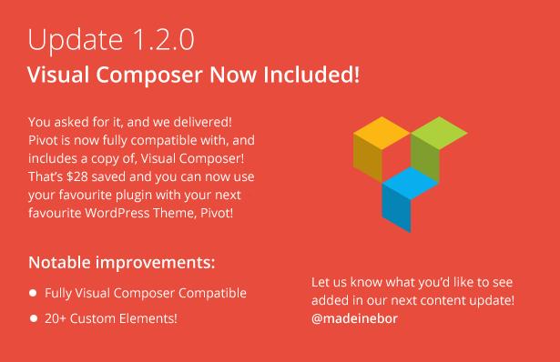 Pivot | Responsive Multipurpose WordPress Theme - 6
