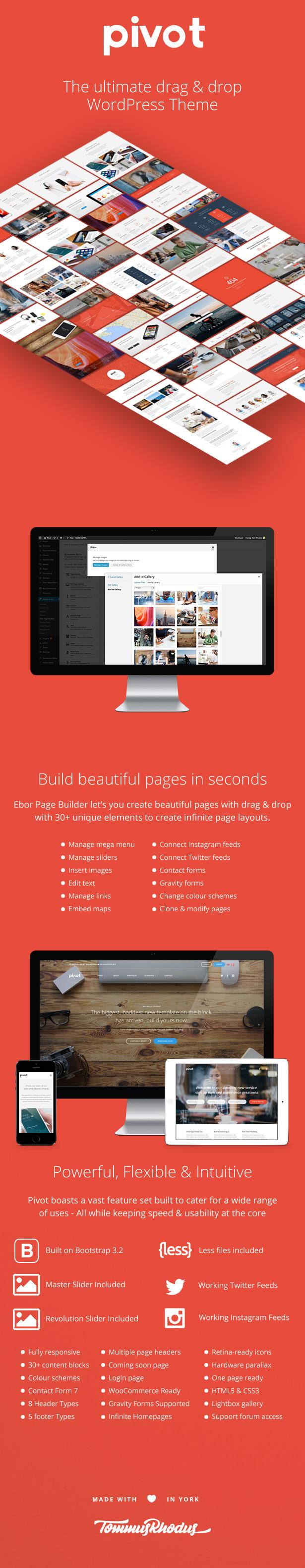 Pivot | Responsive Multipurpose WordPress Theme - 8