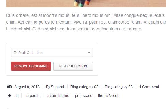 WordPress User Bookmarks for UserPro - 6