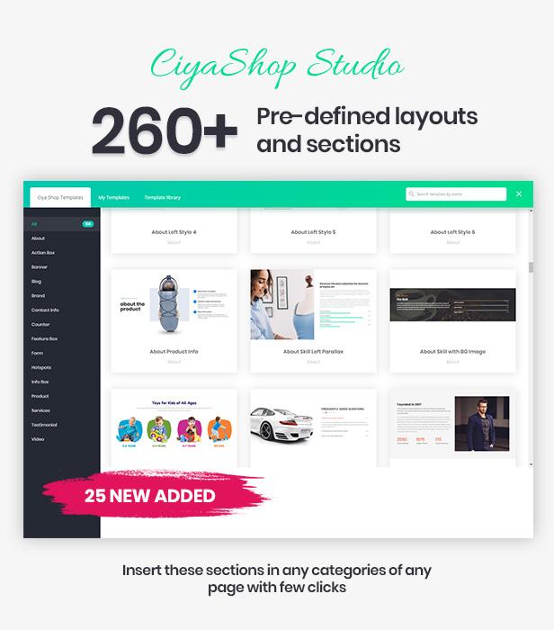 CiyaShop - Responsive Multi-Purpose WooCommerce WordPress Theme - 4