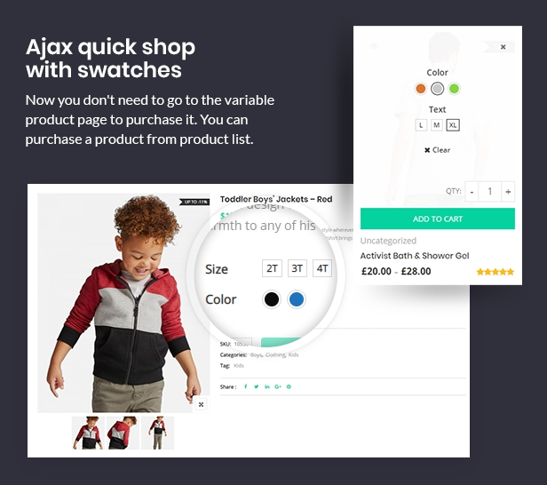 CiyaShop - Responsive Multi-Purpose WooCommerce WordPress Theme - 7