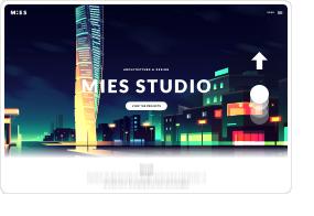 MIES - An Avant-Garde Architecture WordPress Theme - 6