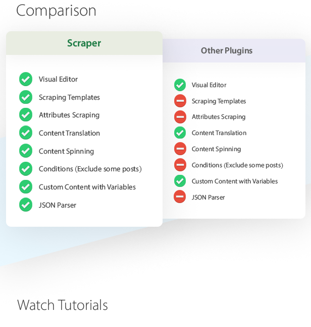 Scraper - Content Crawler Plugin for WordPress - 2